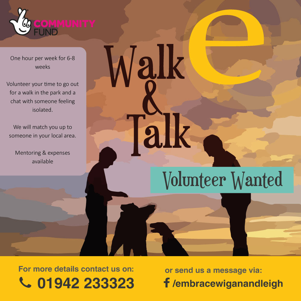 Volunteer wanted on our walk and talk