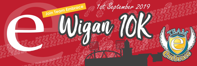 Wigan 10k Banner