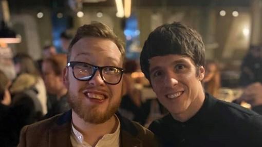 Chris and Dan photos