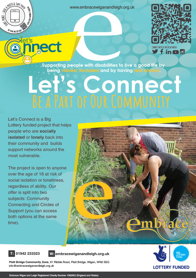Lets connect Poster