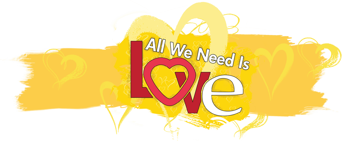 All we need is logo