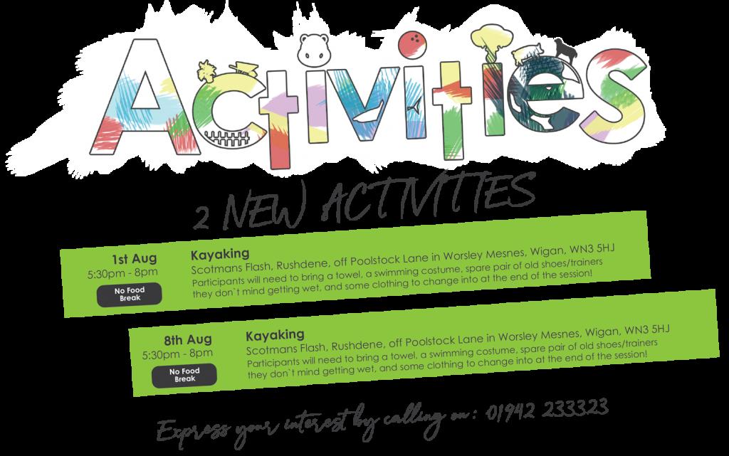 2 new activities