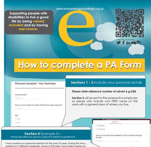 PA form explanation