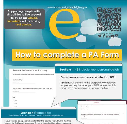 PA form explanation